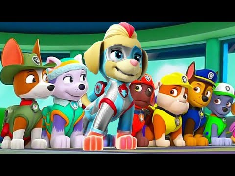 Paw Patrol   All Mighty Pups On a Roll Rescue Mission   Mighty Twins in Action Nick Jr. HD