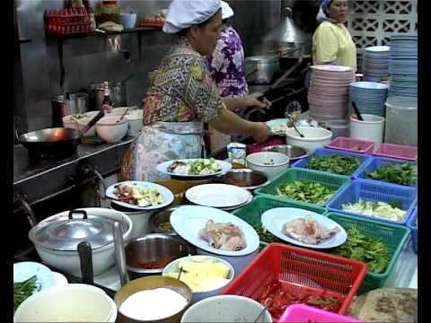 Thai Restaurant kitchen , Hua Hin