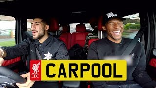 Video LFC Carpool: Can, Wijnaldum & Mane | Blanked calls, Three Little Birds and more MP3, 3GP, MP4, WEBM, AVI, FLV Maret 2018