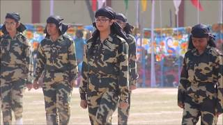 Kandho se milte hain kandhe....Tribute to Indian Soldiers by Class X girls of BWGS GYV