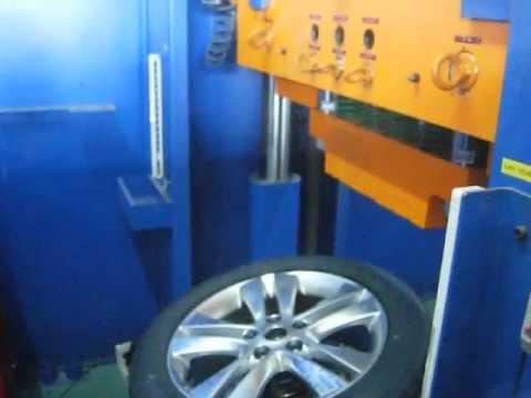 Испытание диска WSP Italy W2507 ASTRA на удар спицы (Opel)