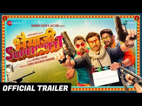 Bhaiaji Superhit - Official Trailer | Sunny Deol, Preity Zinta, Arshad Warsi & Shreyas T | Bhaiyaji