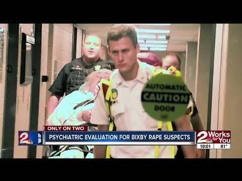 Psychiatric evaluation for Bixby rape suspects