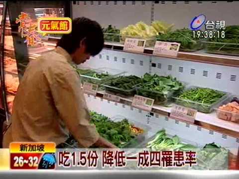 多吃綠葉蔬菜 助降低罹糖尿病