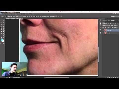 Puisten verwijderen in Photoshop - HoeGaatDat