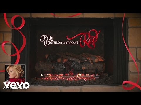"""Kelly Clarkson - White Christmas (Kelly's """"Wrapped In Red"""" Yule Log Series)"""