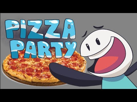 SURPRISE - IT'S THE RETURN OF THE PIZZA PARTY