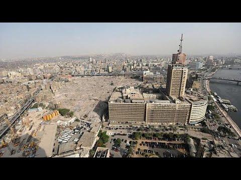 Αίγυπτος: Μεγάλη πυρκαγιά στο νέο Εθνικό Μουσείο