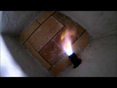 Как сделать печь для обжига керамики на дровах