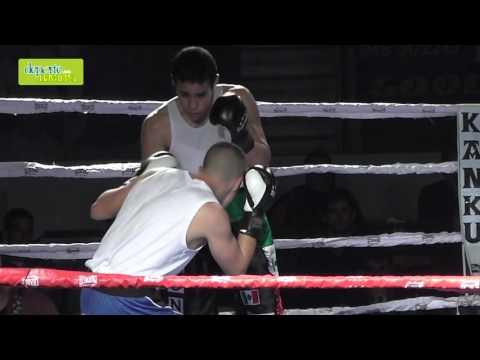 Velada Anaitasuna kickboxing combate 2 1 cámara lenta