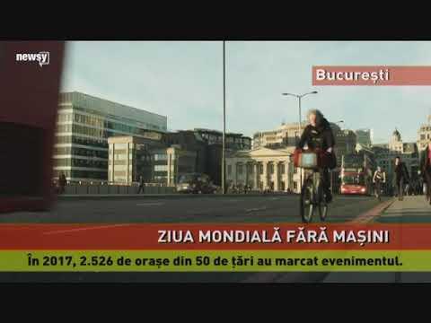 Ziua Mondială fără Mașini, marcată și la București