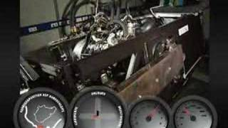 2009 Porsche 911 Engine Oil Sump Test Rig