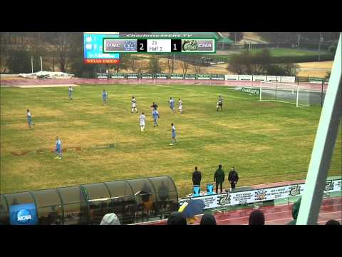Charlotte 49ers Video: MSOC downed by North Carolina 2-1