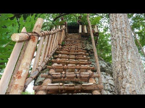 Primitive Skill Builder :  Build Hut On High Rock