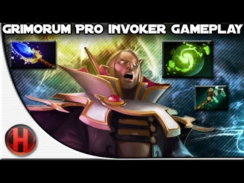 Grimorum Pro Invoker Gameplay Dota 2