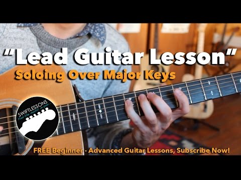 Major Lead Guitar Tricks – Soloing over Major Keys Guitar Lesson