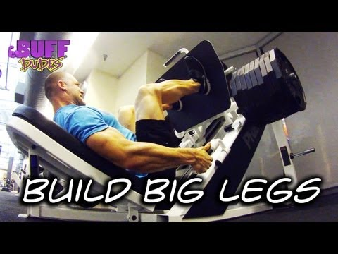 how to isolate leg muscles