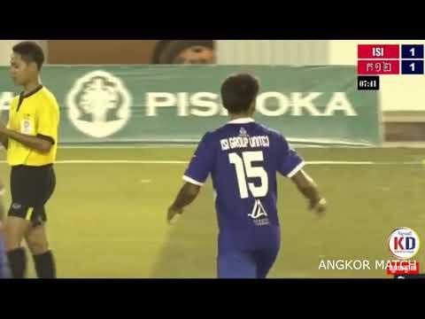 ISI Group United vs យុវជនក១២ 6-2 - HIGHLIGHTS  - FRIENDLY- 03/05/2018