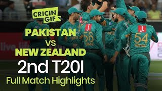 Pakistan vs New Zealand - 2nd T20I, Dubai - Full Highlights