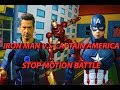 IRON MAN VS CAPTAIN AMERICA - CIVIL WAR STOP MOTION video download