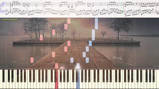 Entrelacs - Andre Gagnon (Ноты и Видеоурок для фортепиано) (piano cover)