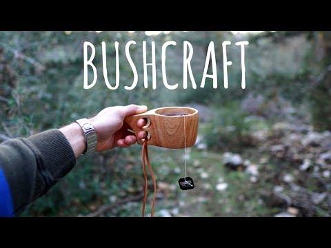 Pranzo Bushcraft nel Bosco con i Regali degli Amici