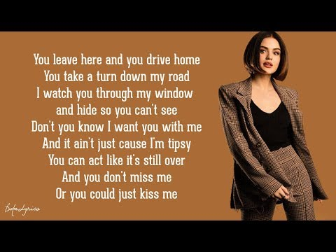 Kiss Me - Lucy Hale (Lyrics) 🎵
