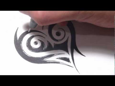 Tribal Heart Tattoos – Drawing a Unique Design