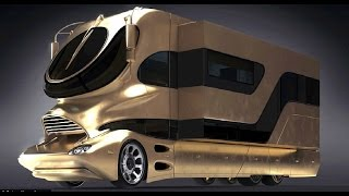 Video The Most Luxurious Motorhome & Buses in the world MP3, 3GP, MP4, WEBM, AVI, FLV Juni 2018
