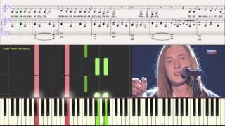Каждое дыхание Ал. �ванов (Главная сцена) (Ноты для фортепиано) (piano cover)