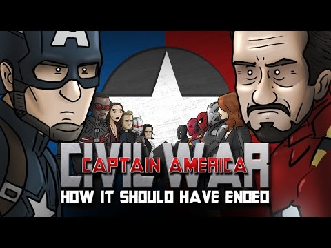 How Captain America: Civil War Should Have Ended (видео)