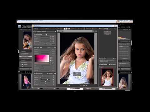 Imagenomic Portraiture Lightroom Workflow