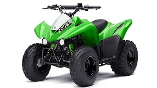 4. 2016 Kawasaki KFX 90 - kids four wheelers - all terrain vehicles