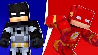 Minecraft - 4-Player Superhero Creator Modded Minigame | JeromeASF