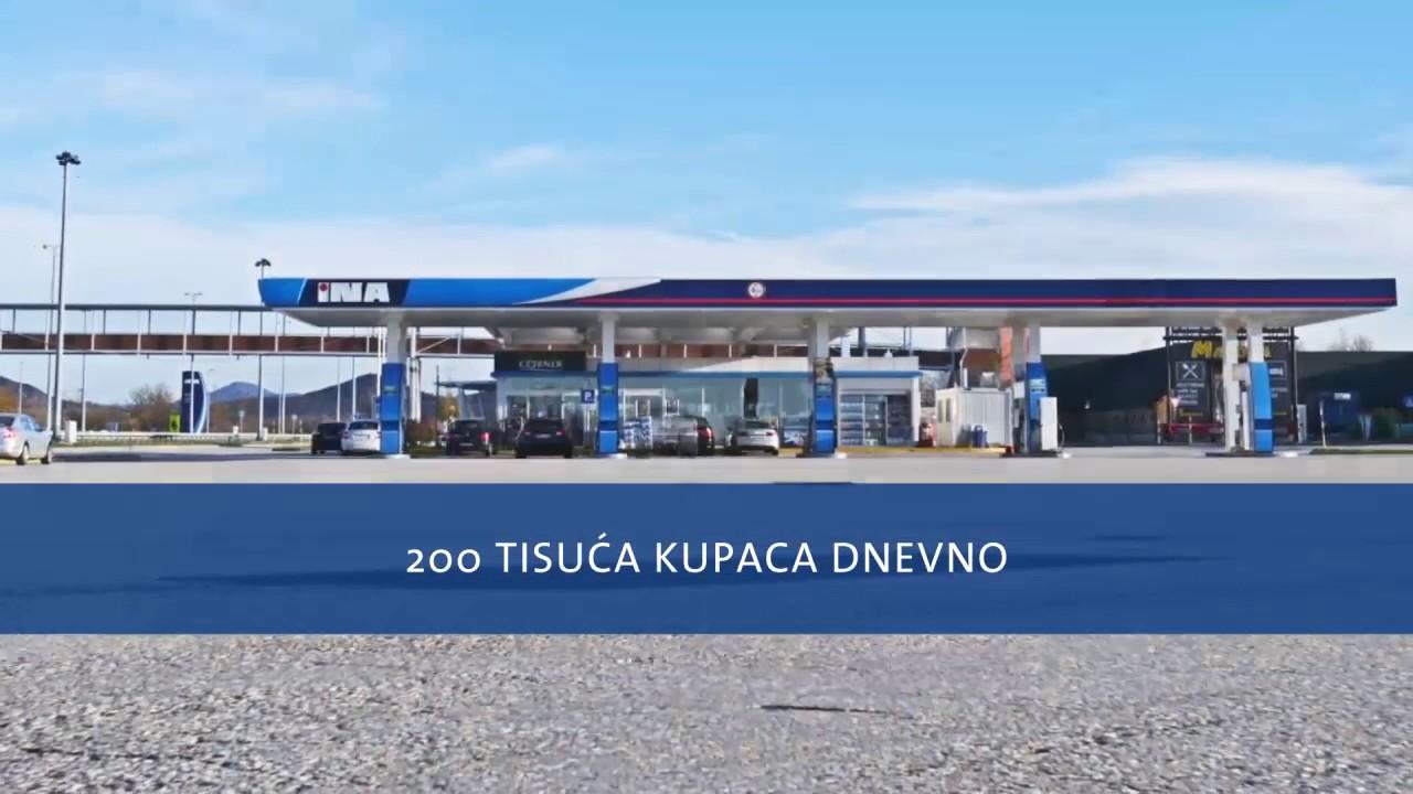 INA ima najveću moderniziranu maloprodajnu mrežu u Hrvatskoj