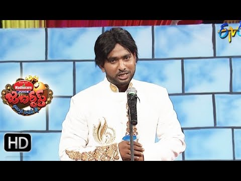 Adhire Abhinay Performance | Jabardasth| 19th October 2017