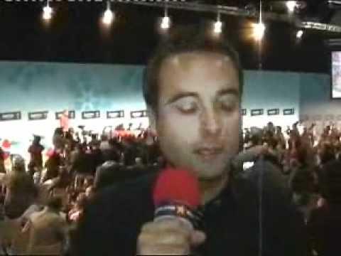 Pressconference  (Serbia has won the Eurovision 2007)