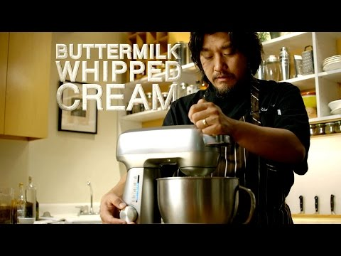 "Breville Presents Buttermilk Whipped Cream - ""Mind Of A Chef Techniques With Edward Lee"""