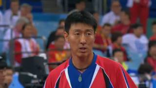 2008 Olympic Chin Sang Eun vs Timo Boll GER