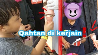 Video QAHTAN DI KERJAIN SAMA PENJUAL ICE CREAM TURKI FT FATEH, MUNTAZ, SALEHA HALILINTAR #QAHTANDAILY MP3, 3GP, MP4, WEBM, AVI, FLV Maret 2019