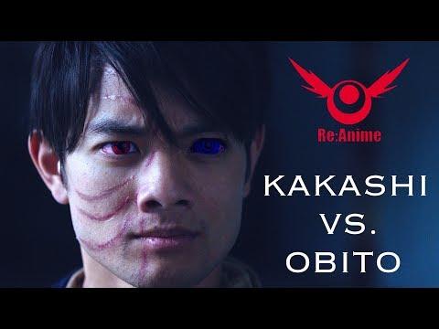 NARUTO: KAKASHI VS. OBITO FIGHT (RE:ANIME) - Thời lượng: 5 phút, 50 giây.