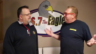 "Big Brother season one contestant ""Chicken"" George Boswell stops by 96.7 The Eagle to chat with Double T. The Rockford native talks about how he got on the show and what he's doing now. Check him out on the Mecum Car Auctions. If you're new, Subscribe! → http://bit.ly/1wcuEI3Go here → http://967theeagle.net.Like us → https://www.facebook.com/967TheEagleFollow us → https://twitter.com/967theeagleGet our newsletter → http://www.967theeagle.net/newsletterFor any licensing requests, please contact rockford.youtube@townsquaremedia.com."