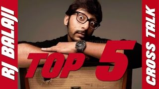 Video Top 5 RJ Balaji Cross Talks Latest | Best of RJ Balaji 2016 MP3, 3GP, MP4, WEBM, AVI, FLV November 2017