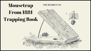 Download Lagu Mousetrap From a 1881 Trapping Book. The BOARD-FLAP Trap - Mousetrap Monday Mp3
