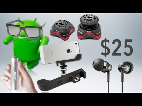 BEST TECH & GEEK GIFTS UNDER $25! (2012 Holiday Gift Guide)