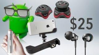 Video BEST TECH & GEEK GIFTS UNDER $25! (2012 Holiday Gift Guide) MP3, 3GP, MP4, WEBM, AVI, FLV Juli 2018