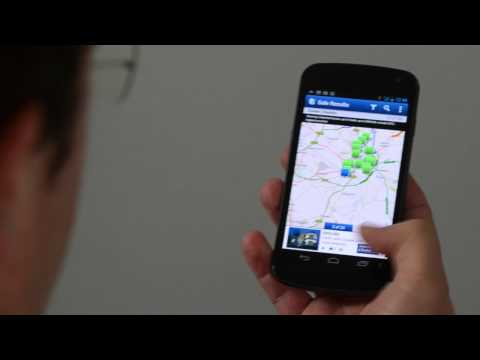 Video of Rightmove property search app