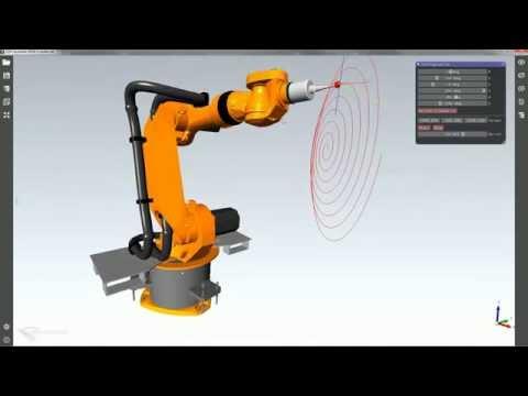 Sélection de Shapes pendant une animation dans l'application CAD Assistant.