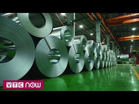 Mỹ áp biểu thuế nhôm, thép nhập khẩu mới | VTC1 - Thời lượng: 59 giây.