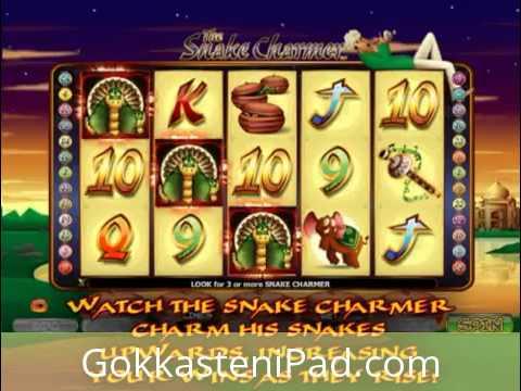 Snake Charmer Slot Mobile - iPad en iPhone Casino games